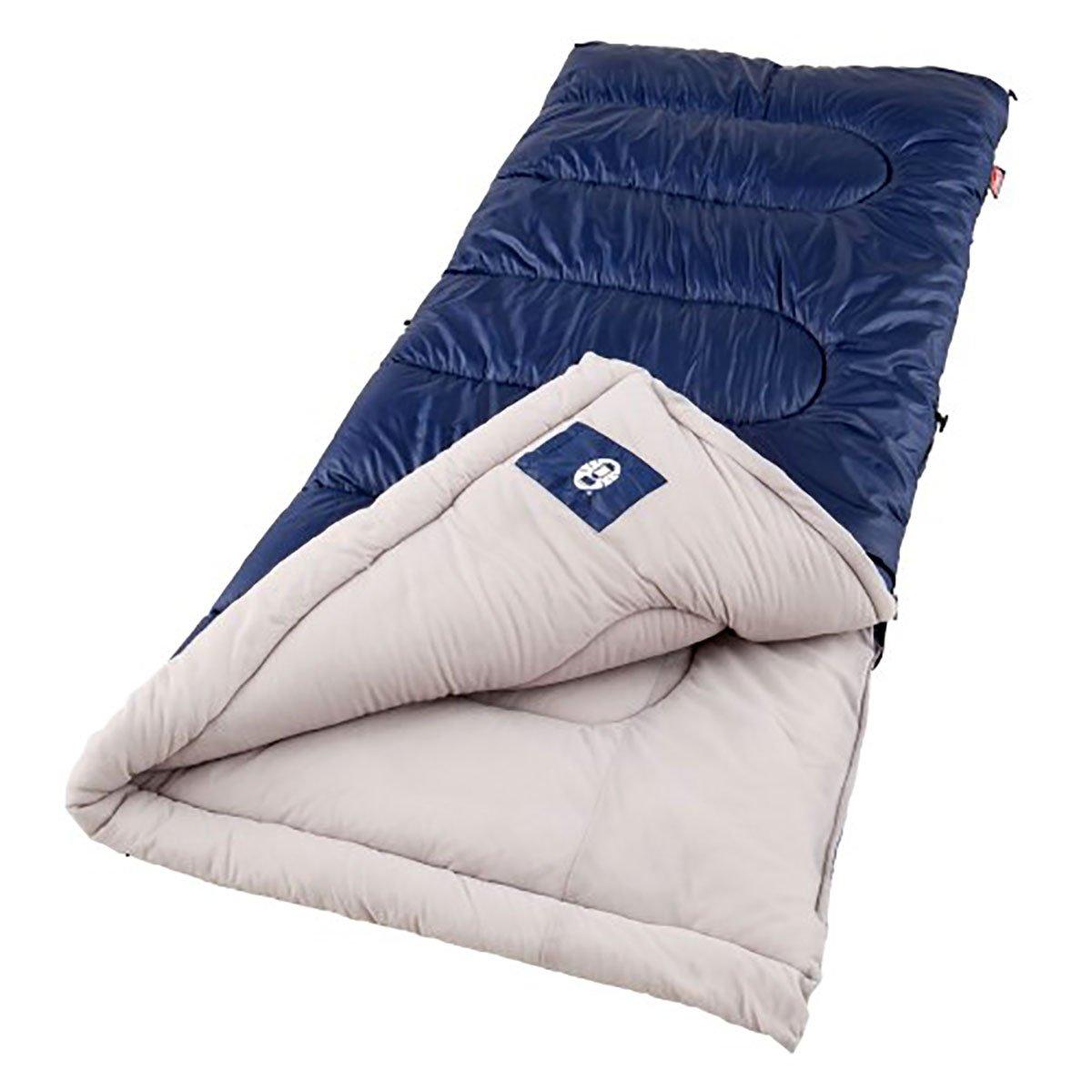 Coleman Sunridge 75 x 33インチ長方形Sleepingバッグブルー – 2000016328 B071Y414GV