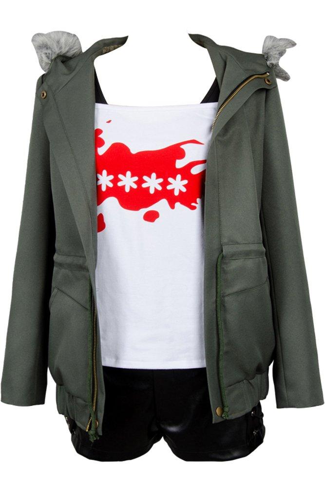 Cosplaysky Persona 5 Costume Futaba Sakura Shirt Coat Jacket Large