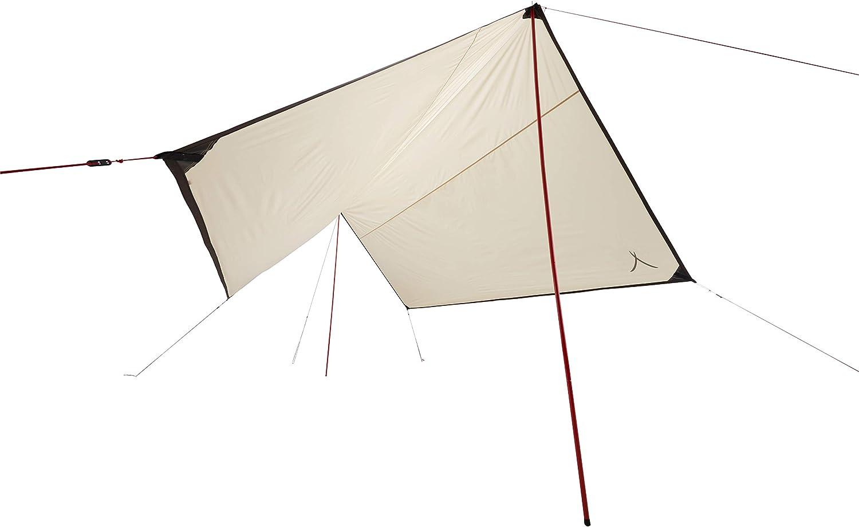 Grand Canyon Shelter Zuni 4 Voile dombrage 400 x 400 cm /étanche Forme carr/ée UV50