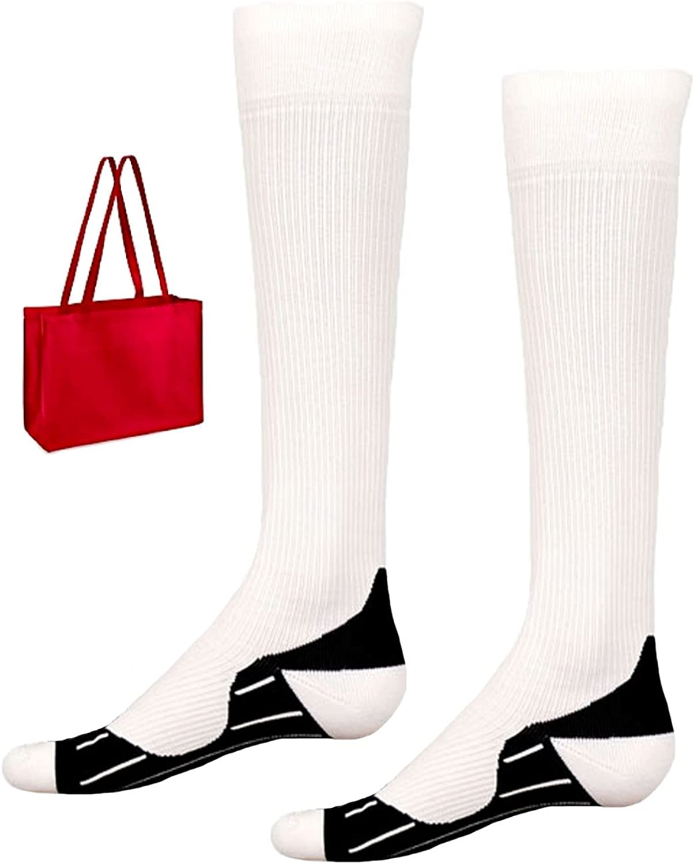 Red Lion Adult Knee High Compression Socks /& Tote Multi-pack