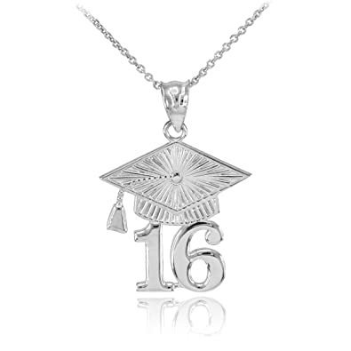 silver for graduation img necklace sterling products charm with gifts inspirational personalized fly graduate birdcage jewelry