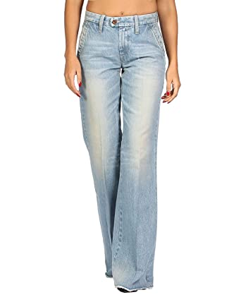 03430ab4 Amazon.com: Diesel - Women's Jeans FLAIRLEGG 888Z - Relaxed Flare: Clothing