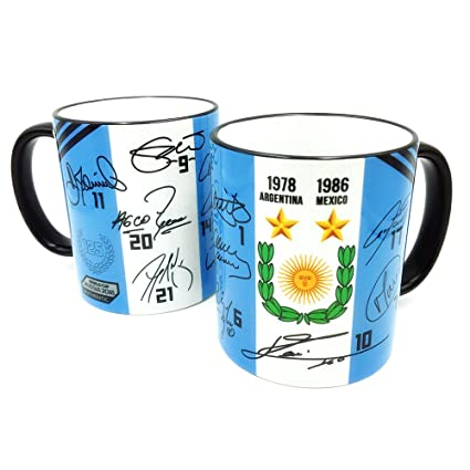 Gio Gifts Argentina Mug The Road To World Cup 2018 Collectible Souvenir 11 Oz.
