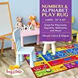 Alphabet and Numbers Play Rug – Educational and