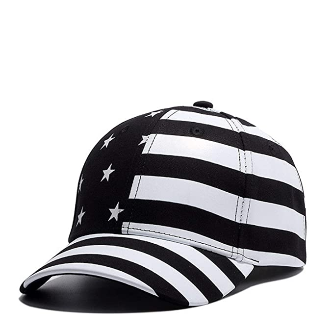 Moktasp Wuke New USA Baseball Cap America Flag Hat Bone Gorras Beisbol Casual Strapback for Men
