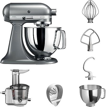 KitchenAid Robot de cocina fop Conjunto   Artisan 5 ksm125ps Licuadora del paquete  , incluye Licuadora vorsatz ...