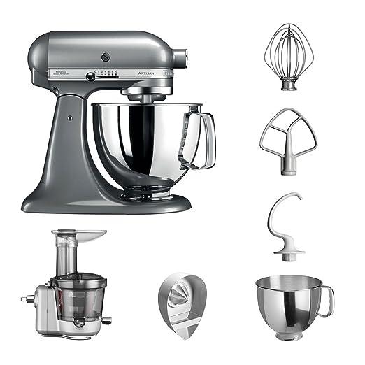 KitchenAid Robot de cocina fop Conjunto   Artisan 5 ksm125ps ...
