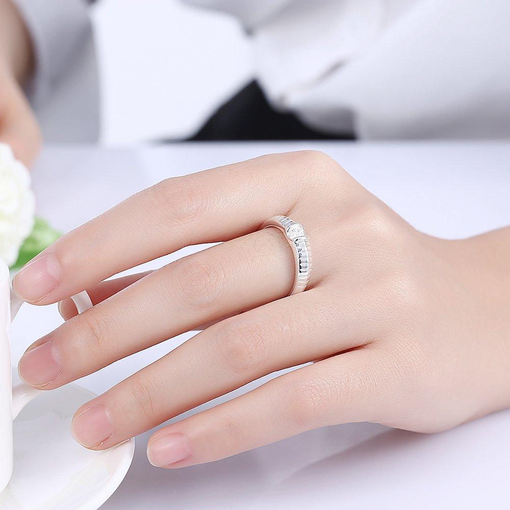 YXYP Anillo Anillo elegante Anillo de moda Accesorios de joyería Mujer Regalo de San Valentín Anillos de matrimonio Anillo de lujo Anillo romántico: ...