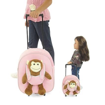 Amazon.com: 18 inch muñeca Maletas con ruedas | Niño y ...