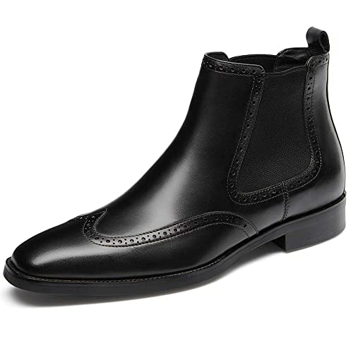 Amazon Gifennse Mens Chelsea Boots Brown Boots For Men