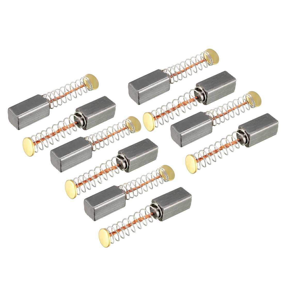 sourcingmap Carbon Brushes for Electric Motors 13mm x 8mm x 5mm Replacement Repair Part 2pcs
