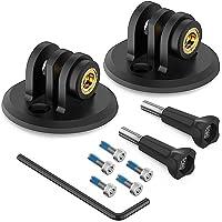 TUSITA [2-Pack] Bicycle Gopro Combo Mount Adapter Compatible with Garmin Edge GPS Computer Mounts - Bike Headlight…