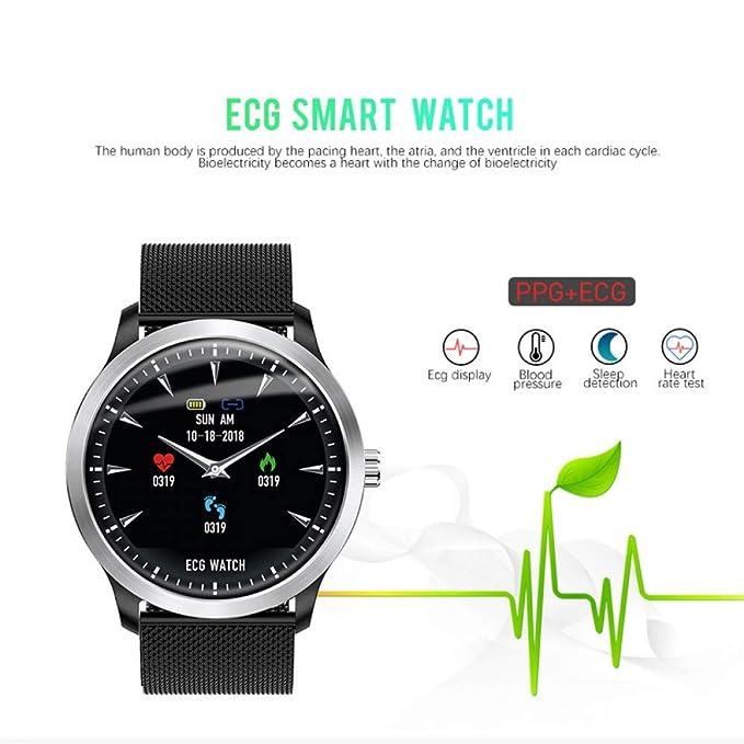 SJUTALR Relojes Deportivos Smart Watch ECG PPG Smartwatch Presión ...