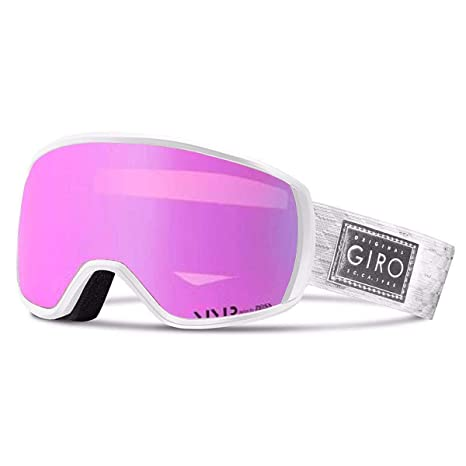 16882d1de745 Buy Giro 2018 Women s Facet Ski Goggle - White Silver Frame Vivid Pink Lens  - 7090510 Online at Low Prices in India - Amazon.in