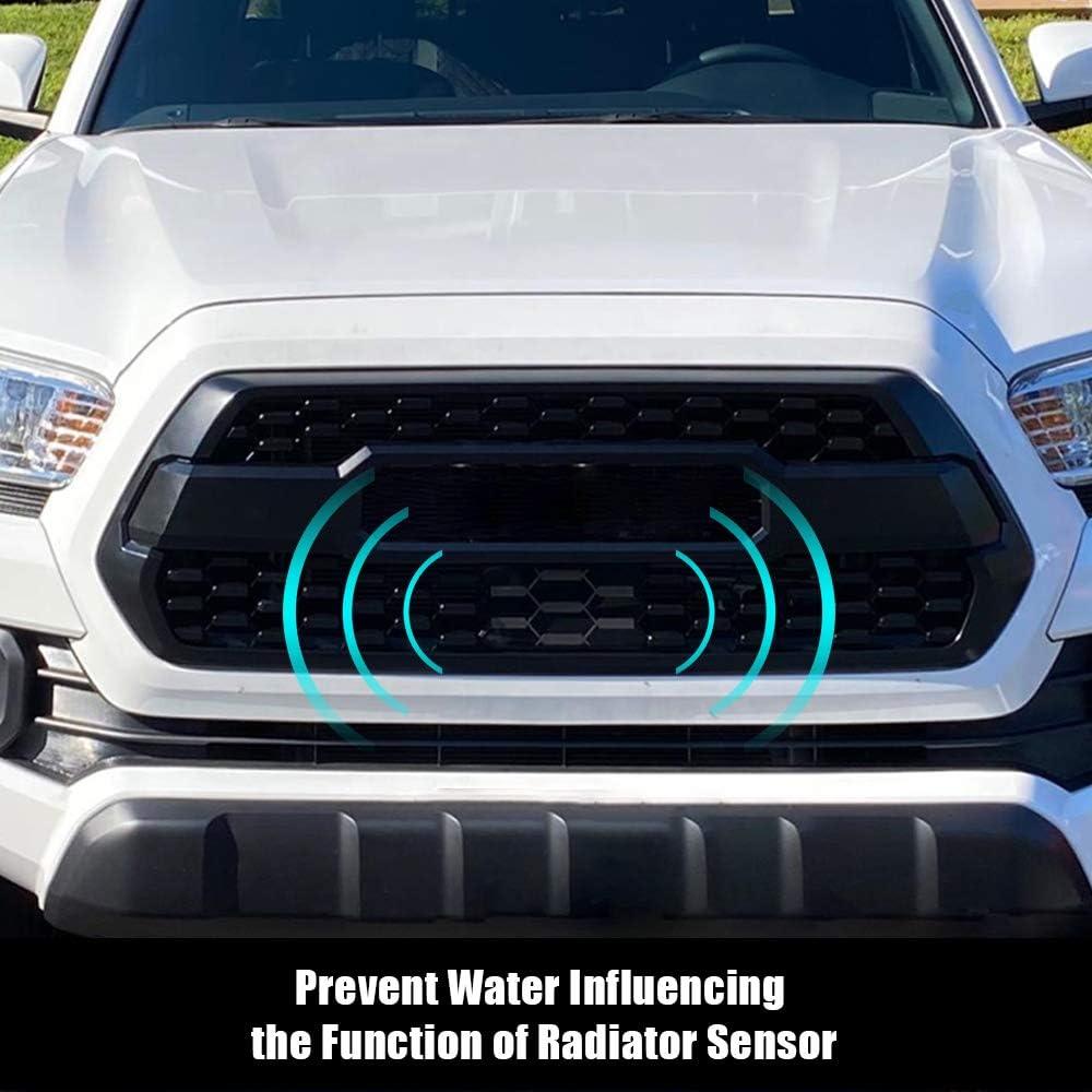 SmithCOCO Front Grille Garnish Radar Sensor Cover Fits Tacoma TRD PRO 2018 /& 2019 TSS Sensor Cover # 53141-35060