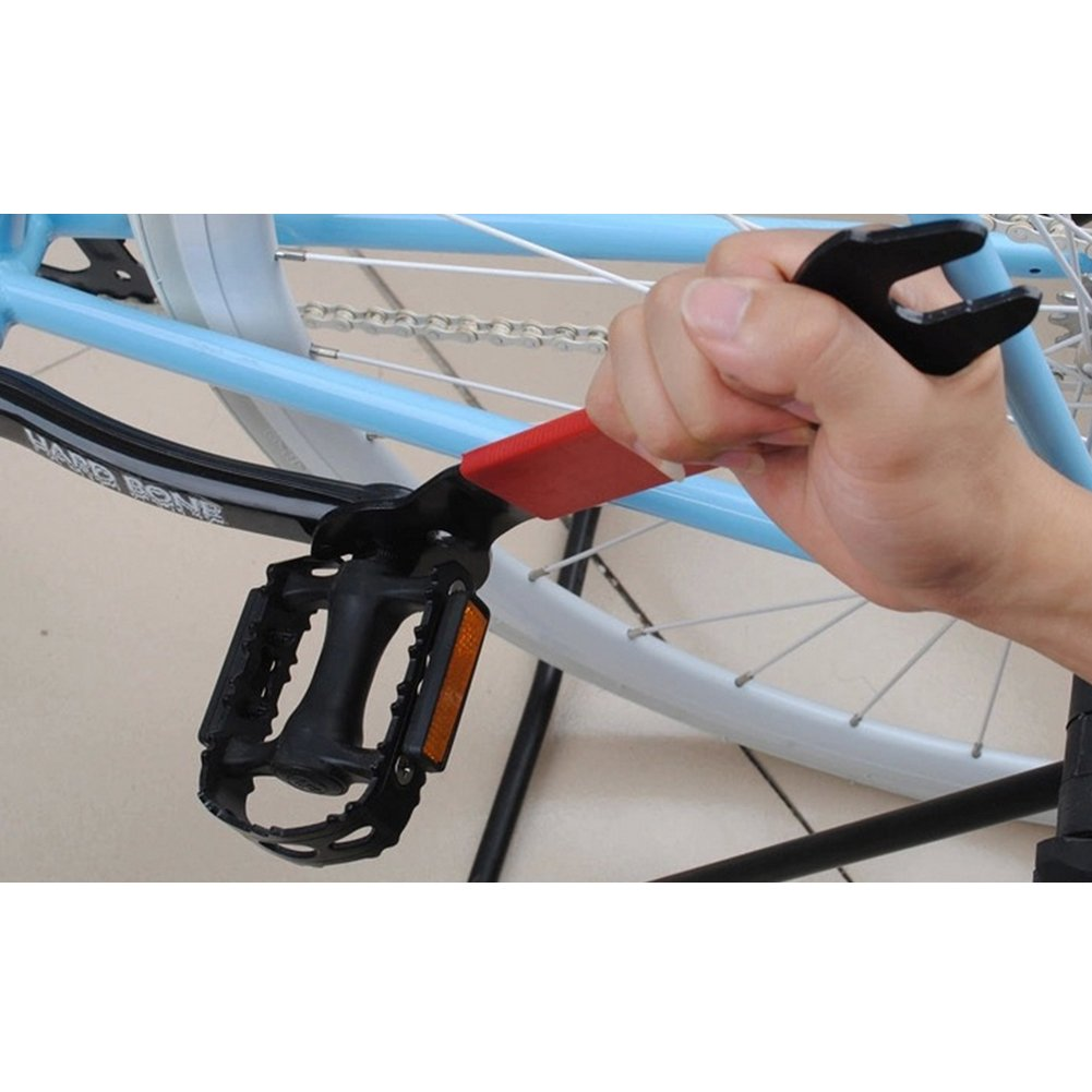 Bike Bicycle Pedal Wrench Spanner Removal Tool 3 in 1 0.59//0.62//0.66 in