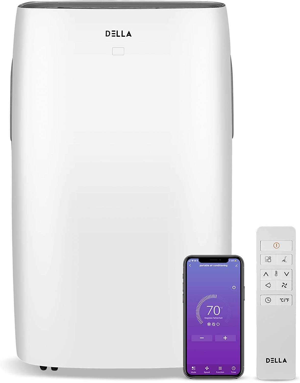 DELLA 14000 BTU Portable Air Conditioner