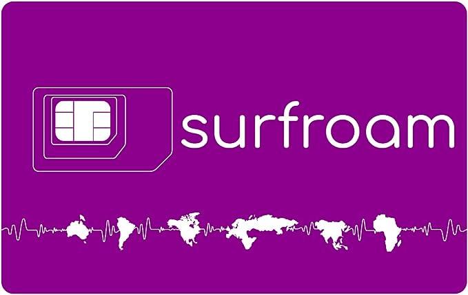 Amazon.com: Surfroam SIM - Acceso a Internet para viajeros ...