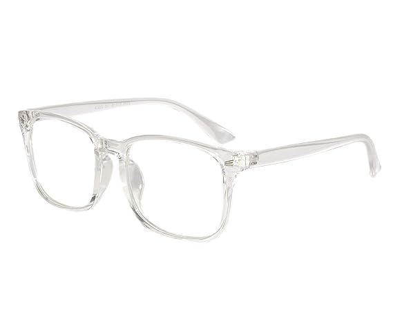 3bd5d56bb0 Peter Jones Wayfarer Transparent Unisex Optical Frame (2379W)  Amazon.in   Clothing   Accessories