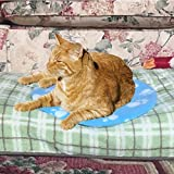 Pet Fit For Life Snuggle Soft Cooling and Microwave Heating Gel Pad Safe for Cats, Dogs and All Pets