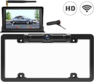 Calmoor Wireless Backup Camera Kit with 5