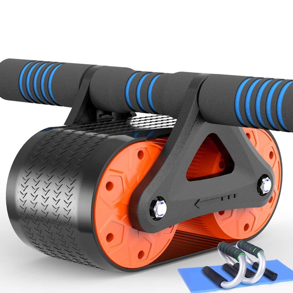 Abs腹部ホイールabローラー滑り止めなしノイズフリーマットcrossfitマッスルトレーナー演習ローラーフィットネス機器ボディシェイピング (色 : B1)  B1 B07NPPN46C
