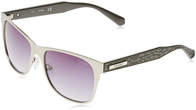 Womens GF6008_05C Sunglasses, Grey (Grigio/Nero), 58 Guess