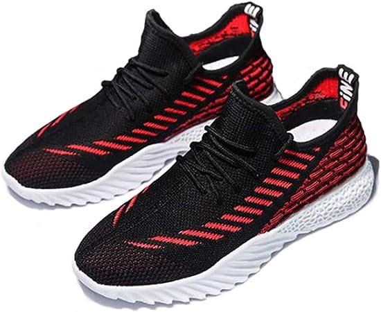JLCP Zapatillas de Hombre para Caminar, Zapatillas de Running de Malla atléticas Zapatillas de Deporte Ligero Non-Slip de Viaje Deportes al Aire Libre Zapatos,3,41: Amazon.es: Hogar