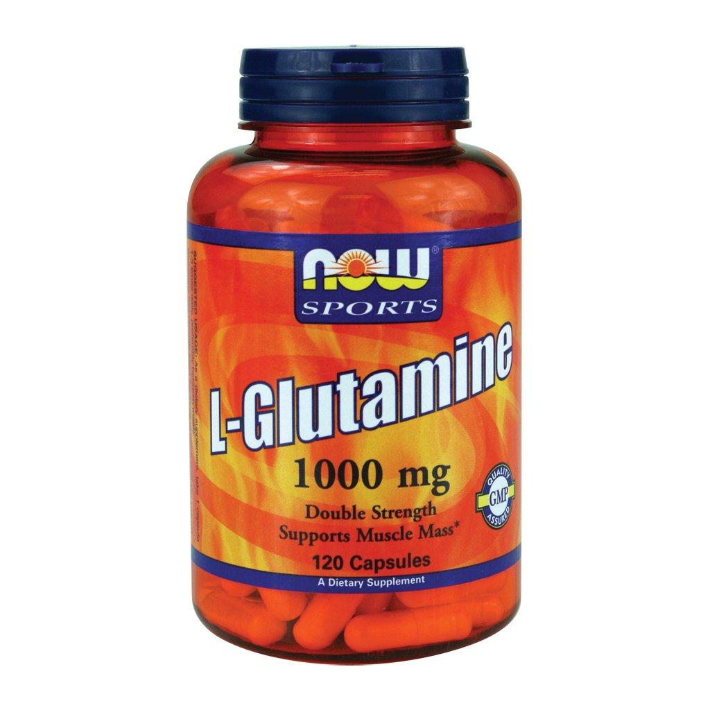 Now Foods L-Glutamine 1000 mg - 120 Caps 6 Pack