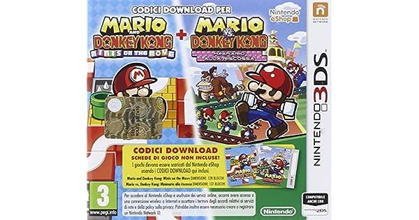 Nintendo Mario vs. Donkey Kong Mini-Land Mayhem, 3DS Nintendo 3DS ...