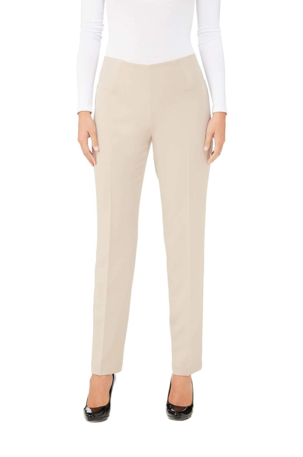 Pull-On So Smooth Slim Leg Pants DK Oyster 18 Nygard