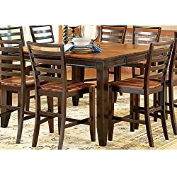 Greyson Living Acacia Two-tone Counter-height Dining Set by 9 Piece 9-Piece Sets