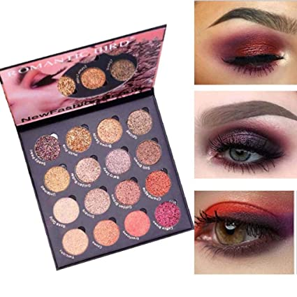 Beauty Essentials Handaiyan Brand Shimmer Eye Shadow Kit Waterproof Pigment Brown Blue Chocolate Black Color Liquid Glitter Eyeshadow Be Novel In Design