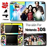 iCarly SKIN VINYL STICKER COVER DECAL for Nintendo 3DS