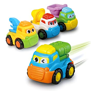 Vehicles Toys Push And Go Cars Vehicles Cartoon Toy Cars Set Bath