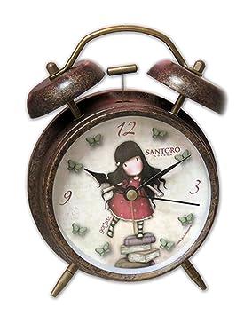 Gor-juss Reloj Despertador Gorjuss, (CyP RD-13-G)