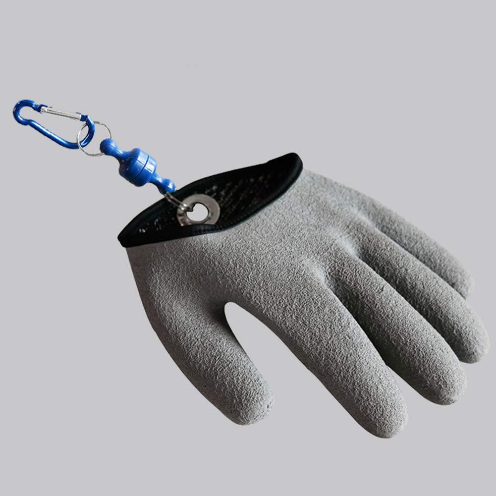 Duk3ichton 1 St/ück Links//rechts Wasserdichte Anti-Puncture Handschutz Angelhandschuh M Linke Hand *