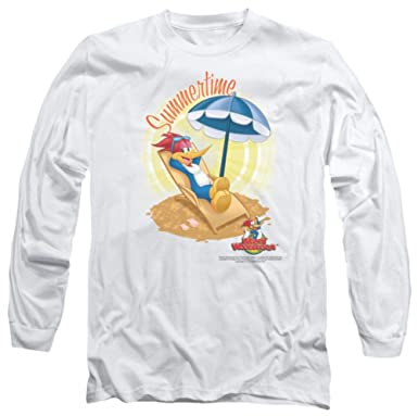 98e4def50894 Image Unavailable. Image not available for. Color  Long Sleeve  Woody  Woodpecker - Summertime Longsleeve ...