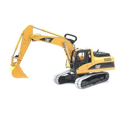 Bruder 02439 Cat Excavator: Toys & Games