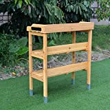 GOOD LIFE Garden Planting Wooden Potting Benches
