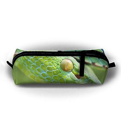Estuche para lápices de serpiente, multifuncional, bolsa de ...