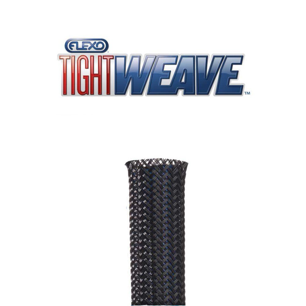 1/4 Techflex Tight weave expandable (extra tight coverage and protection) (25FT)