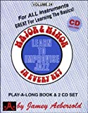 Major & Minor In Every Key (Play-a-Long / Learn to Improvise Jazz, Vol. 24) (Book & CD) by Jamey Aebersold (1999-12-28)