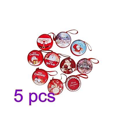 Amazon.com: STOBOK 5 piezas de adornos de Navidad bolso ...