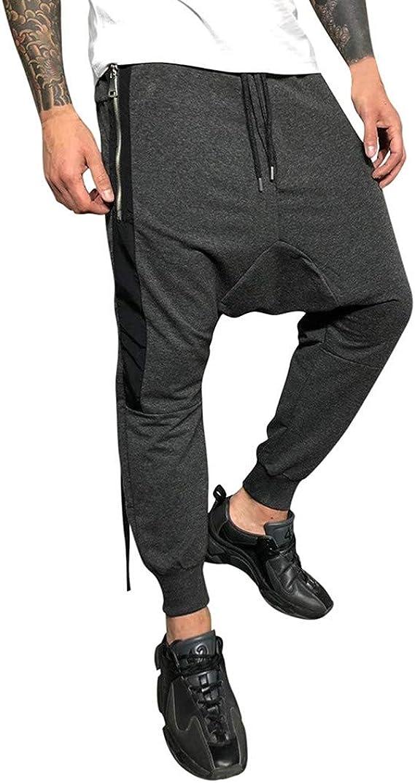Ninja Star Drawstring Waist,100/% Cotton,Elastic Waist Cuffed,Jogger Sweatpants Black