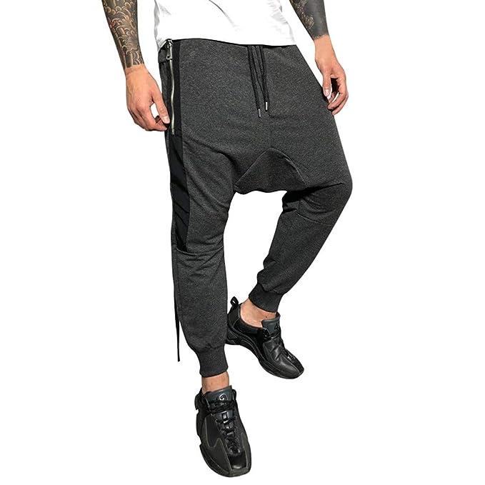 Vectry Pantalones Hombre Nuevos Pantalones De Fitness Suspensión ...