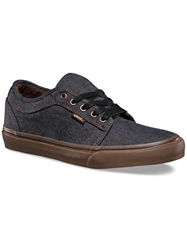 bd43f80f22 Image Unavailable. Image not available for. Color  Vans Chukka Low (Oxford)  Black Gum Sz 6.5 Men s