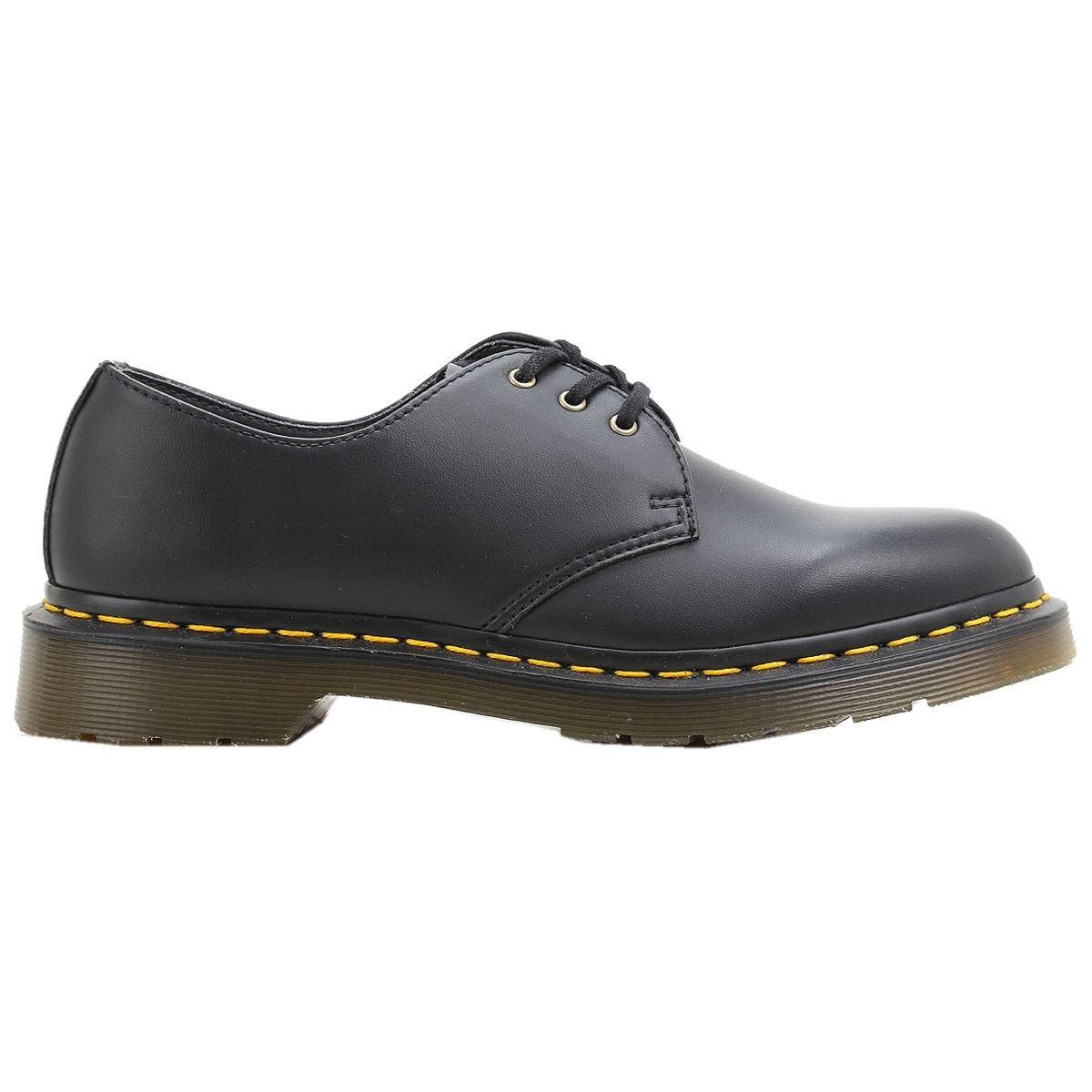 cfaabd9305b64 Galleon - Dr. Martens Unisex-Adult's 1461 Vegan Felix Rub Off Shoes - 6.5 D(M)  US / 9 B(M) US, (Black)