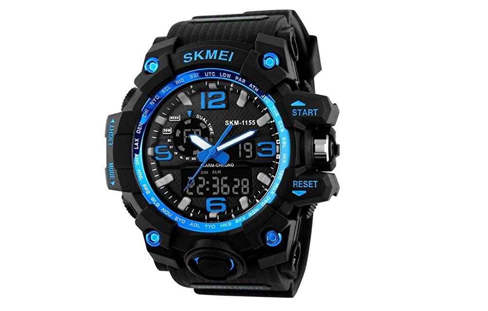 Amazon.com: Relojes de Hombre 2018 Reloj LED Sport Water Resistant Watch Digital Men RE0103: Watches