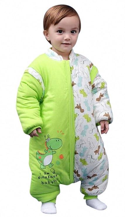 Bebé Saco de dormir con patas Niños Pijama de invierno de baumwollen Niño y Niña Pijama